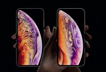 Les iPhone Xs et Xs Max