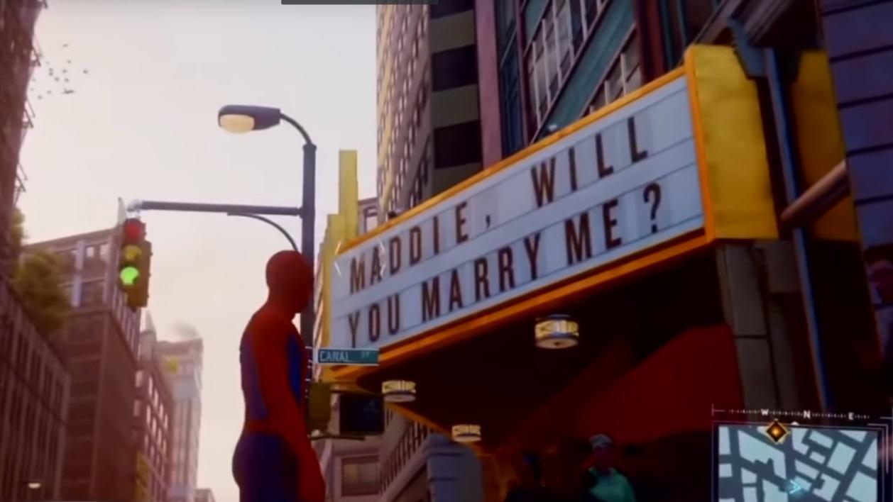 Spider-Man : une demande en mariage pas comme les autres