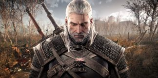 Geralt de Riv de The Witcher