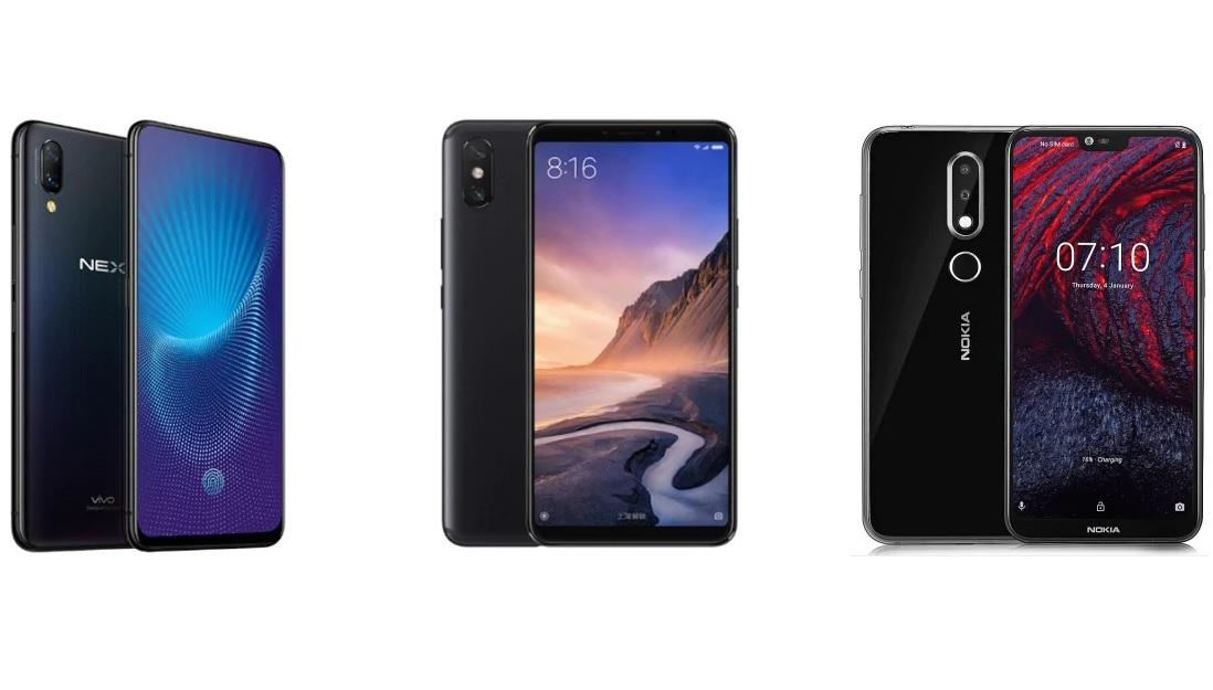 Bon plan GearBest : Vivo Nex à 534 euros, Xiaomi Mi Max 3 à 226 euros et Nokia X6 à 182 euros