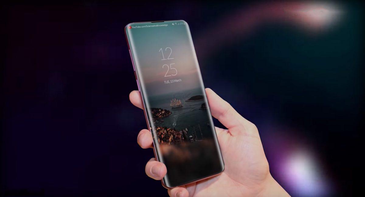 Un concept vidéo borderless pour le Samsung Galaxy S10