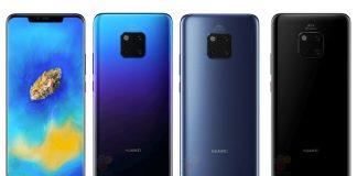 Des fuites techniques sur les Huawei Mate 20 et 20 Pro