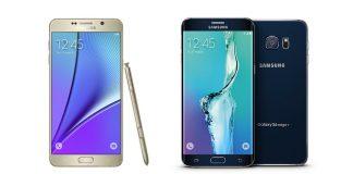 Les Samsung Galaxy Note 5 et Galaxy S6 Edge+ sont officiellement obsolètes