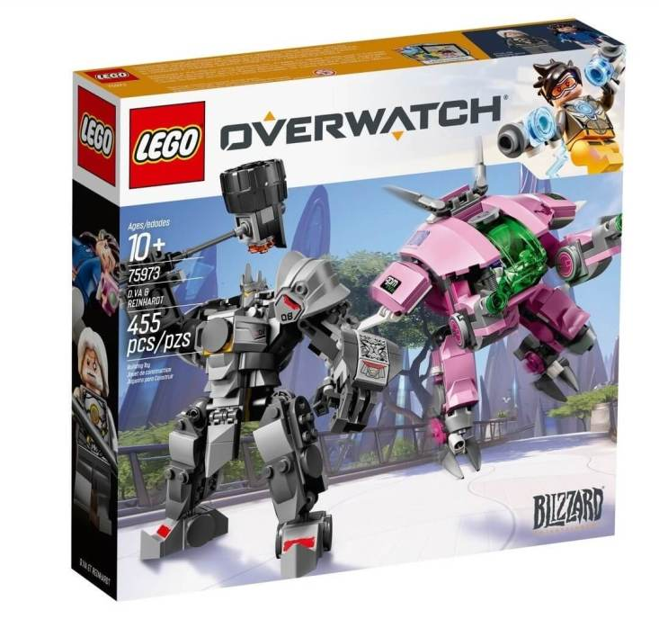 4 - Overwatch : les Lego nous ont été dévoilés prématurément