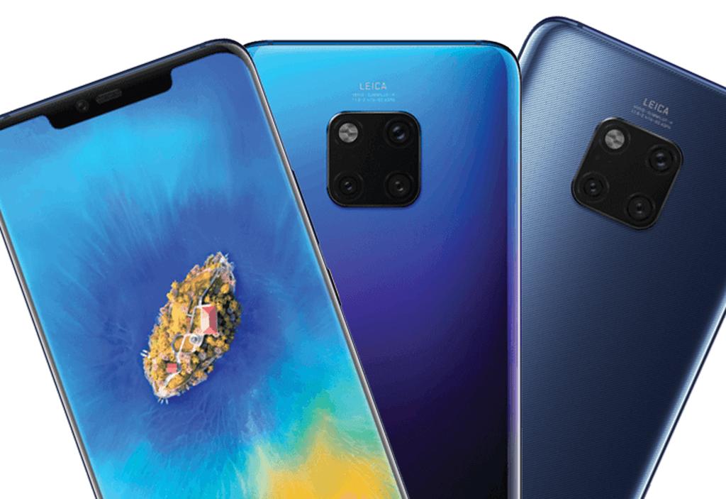 Huawei Mate 20 et 20 Pro