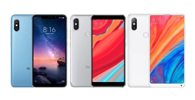 Bon plan GearBest : promos sur les Xiaomi Redmi Note 6 Pro, Redmi S2 et Mi Mix 2S