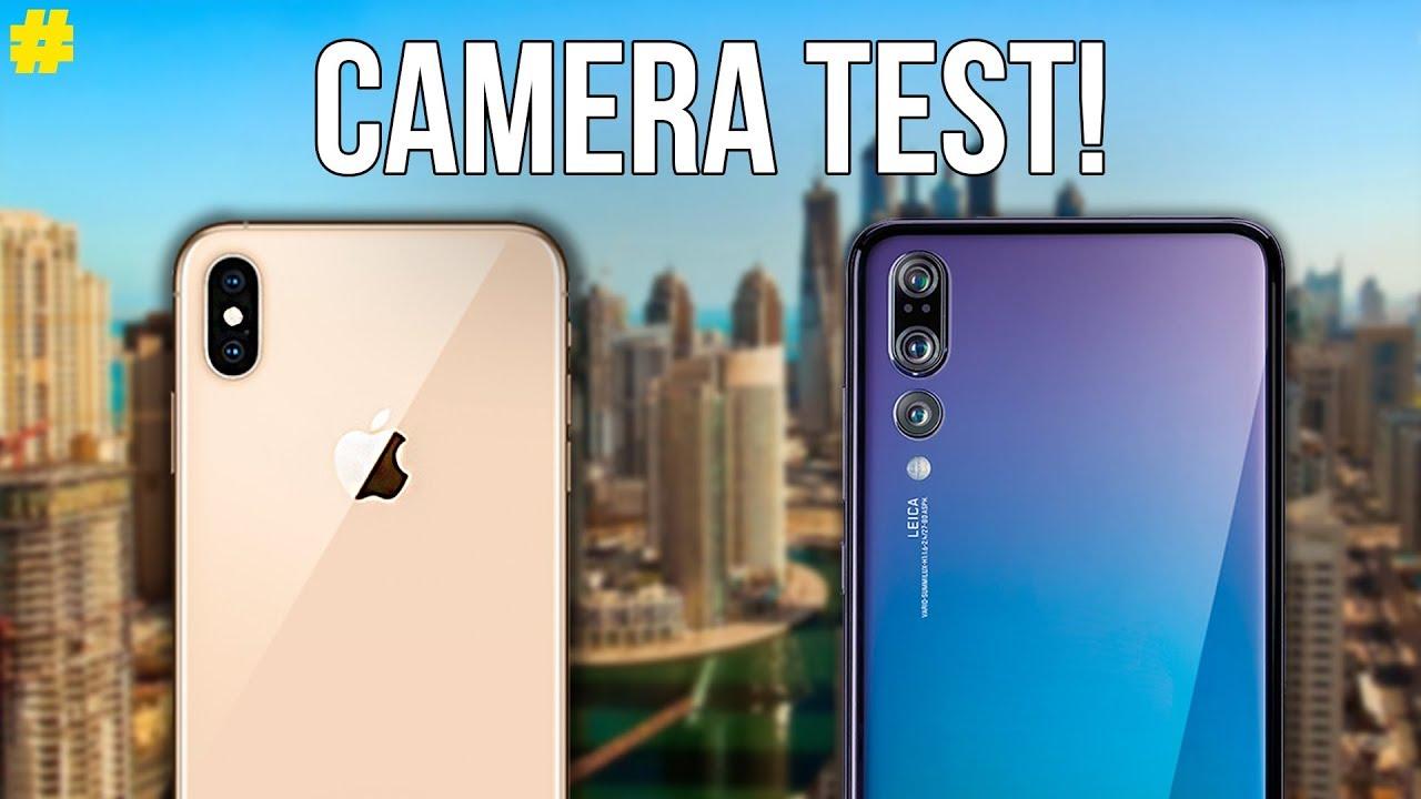 Le Huawei P20 Pro meilleur que l'iPhone Xs Max en photo