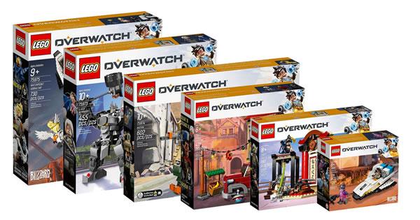 Overwatch : les Lego nous ont été dévoilés prématurément
