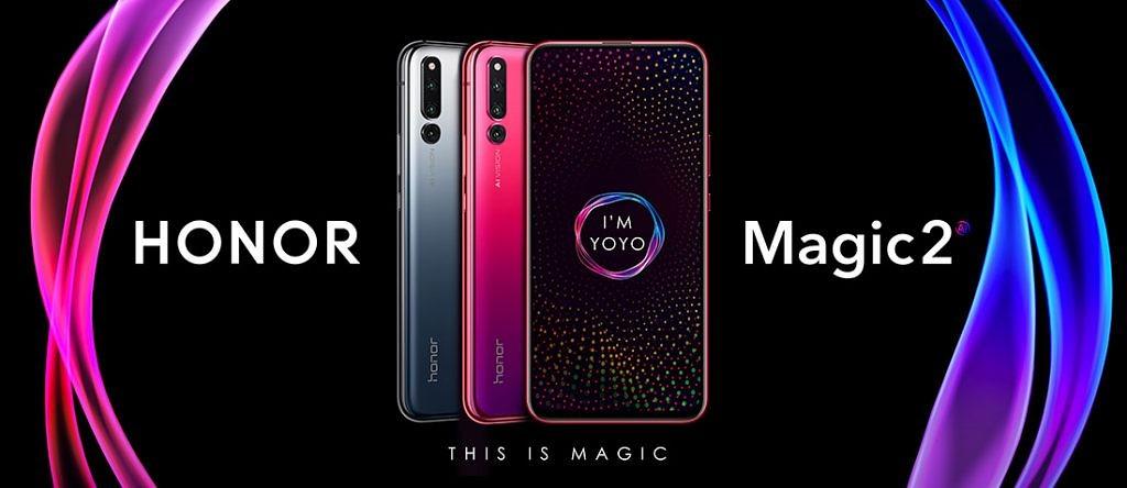 Faites coulisser un Huawei 20 Pro et vous obtiendrez un Honor Magic 2