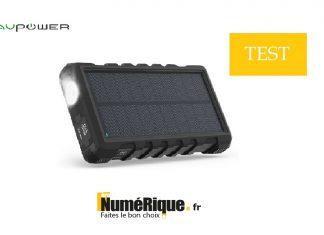 Test batterie RAVPower