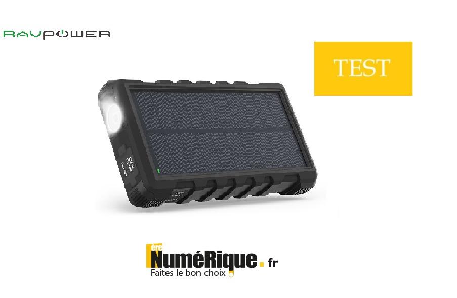 [ TEST ] La batterie RAVPower, l'accessoire idéal des aventuriers
