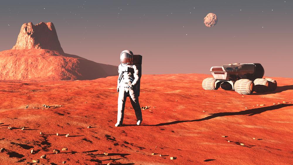 Le voyage sur Mars ne serait pas bon pour nos intestins