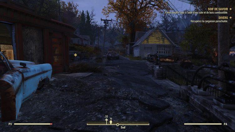 Fallout 76 test 4 750x420 - [ Prise en main ] Bêta de Fallout 76 : que vaut le titre multi de Bethesda ?