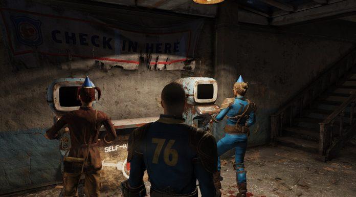Fallout 76 : un peu glauque comme fête