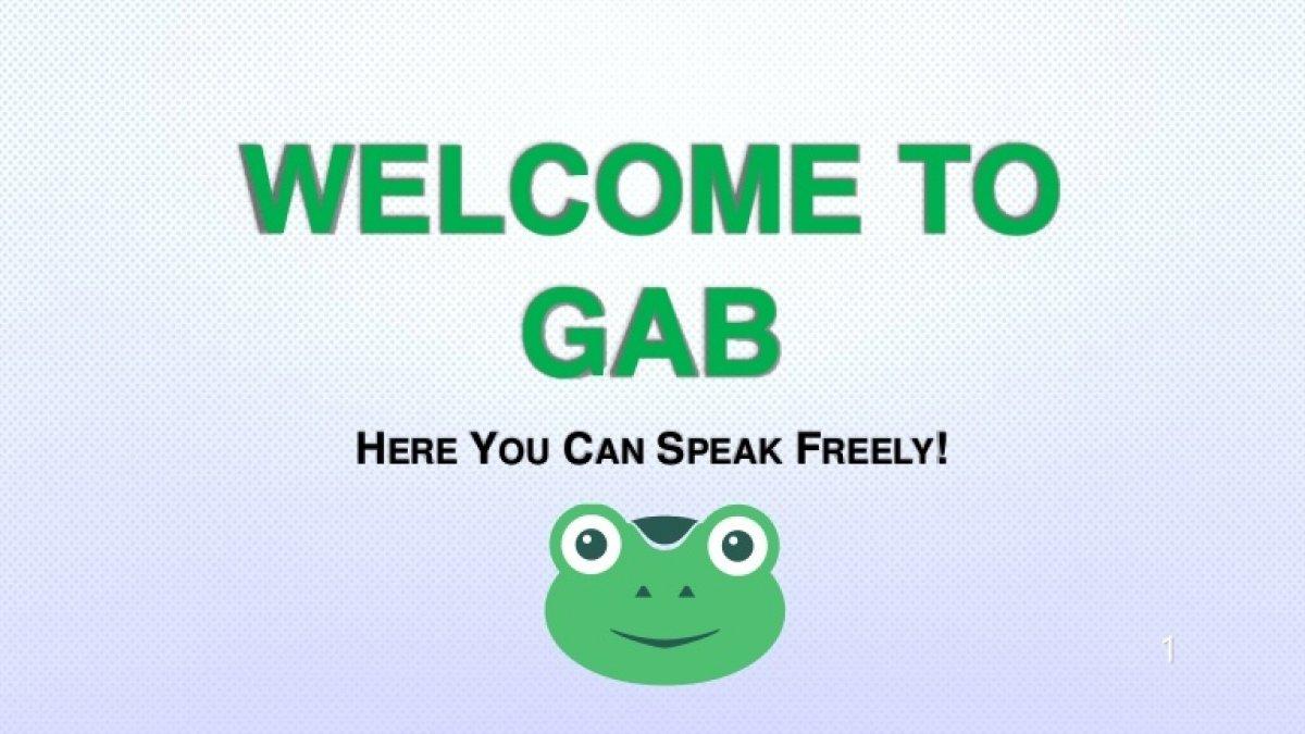 Le réseau social Gab