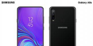 Un concept du Samsung Galaxy A8s