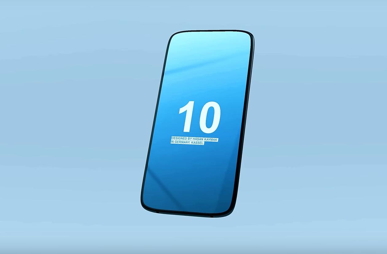 Concept du Samsung Galaxy S10