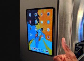 L'iPad Pro 2018 se fixe sur un frigo !