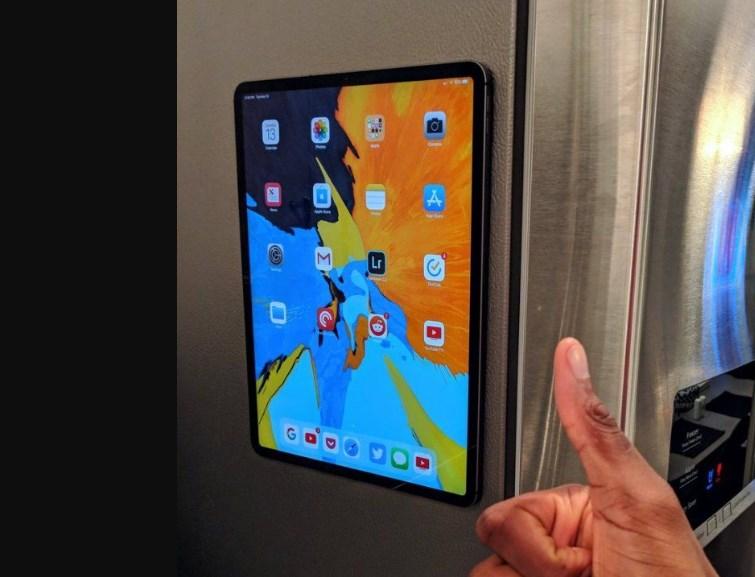 Le tout dernier iPad Pro peut se fixer sur un frigo !