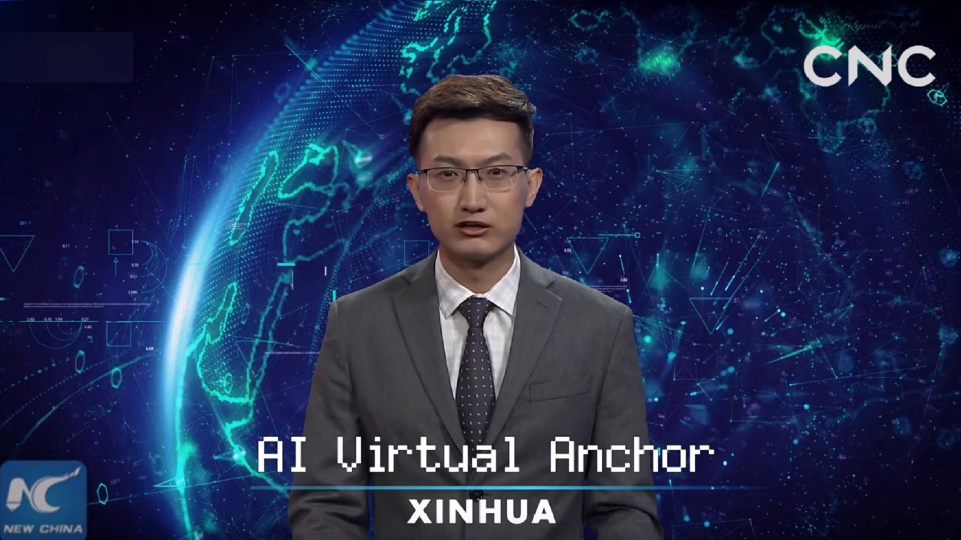 Chine : le gouvernement engage une IA pour présenter les nouvelles à la télé