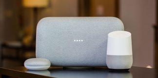 Les trois versions du Google Home