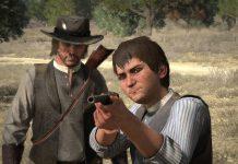 Jack et John Marston dans Red Dead Redemption