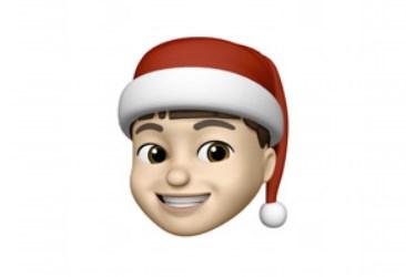 Apple vous permet d'ajouter un chapeau de Noël aux Memoji