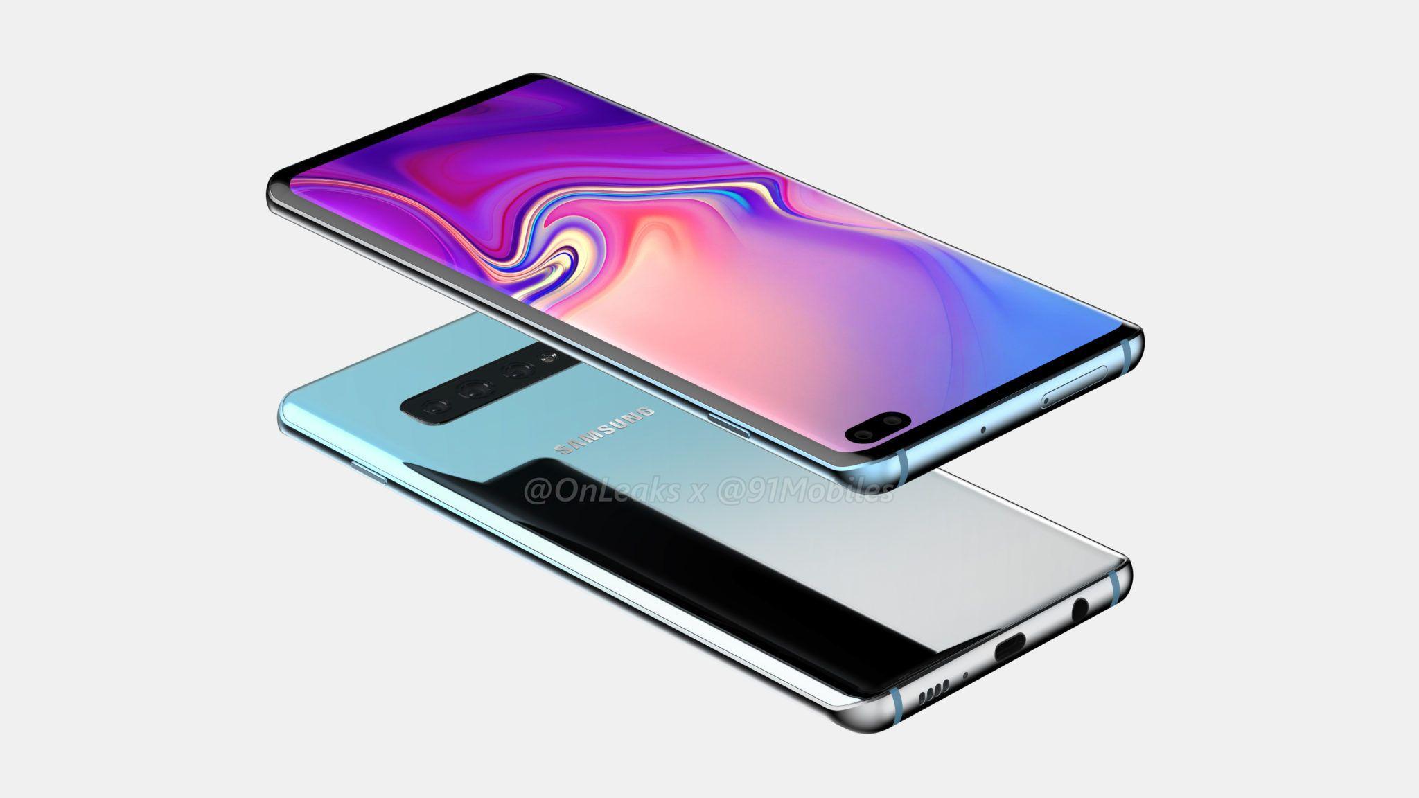 4 capteurs pour le Samsung Galaxy S10, 4 s'il vous plaît