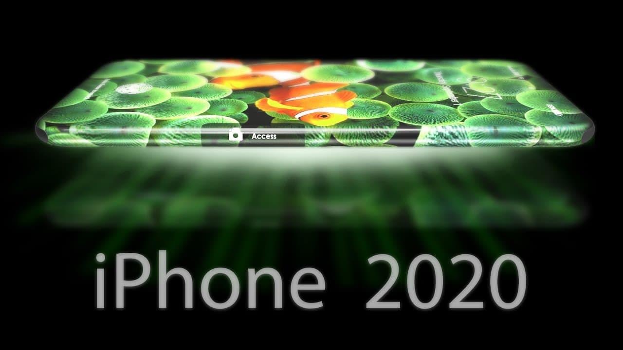 Apple : le trou qui loge le capteur frontal serait pour l'iPhone 2020