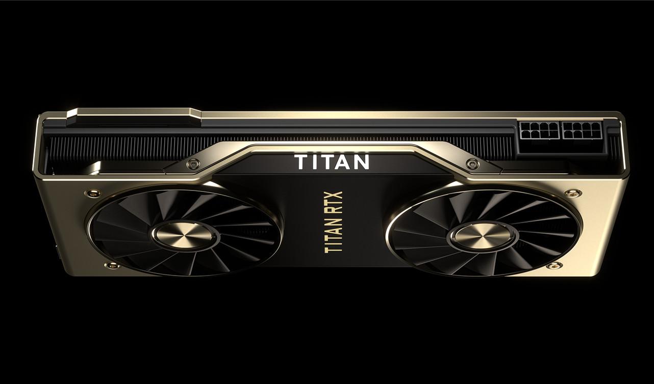 Nvidia lève le voile sur une nouvelle carte graphique RTX Titan