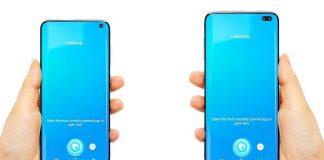 Un concept du Samsung Galaxy S10