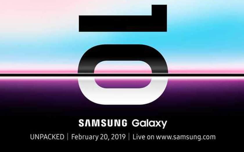 Pas de MWC pour les Samsung Galaxy S10, rendez-vous le 20 février !