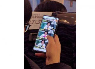 Le Samsung Galaxy S10 Plus a été pris en photo et il a bien un double capteur frontal
