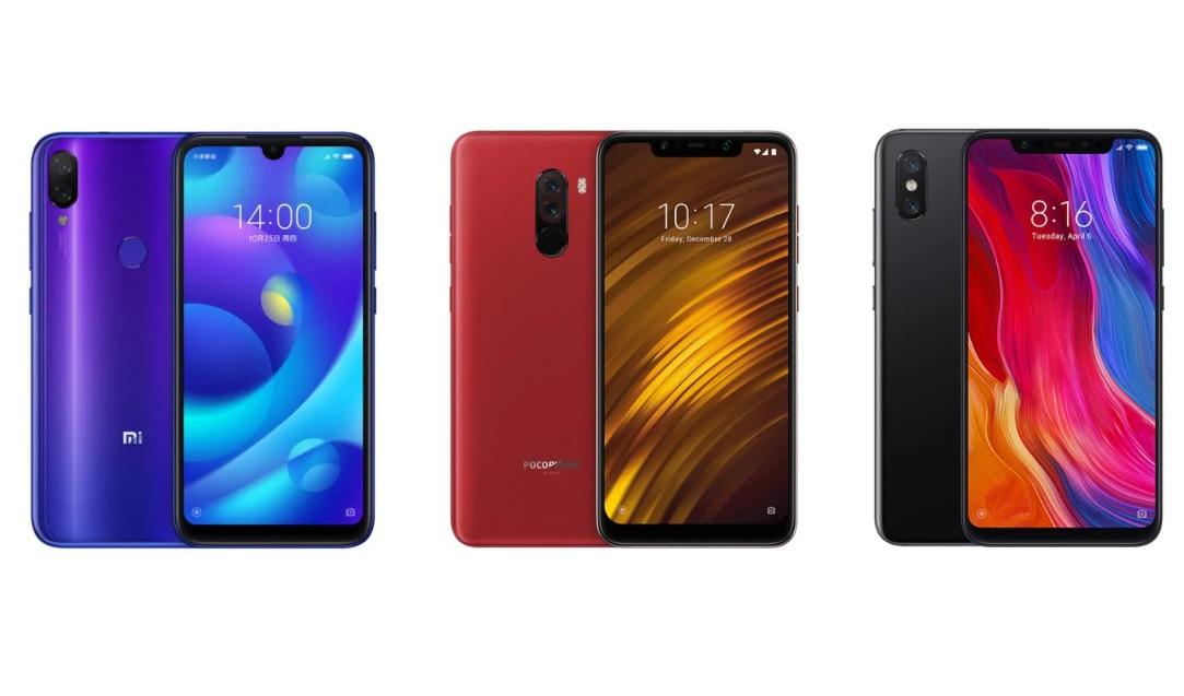 Soldes d'hiver 2019 : Xiaomi Mi Play, Xiaomi Mi 8 et Pocophone F1 en promo sur GearBest !