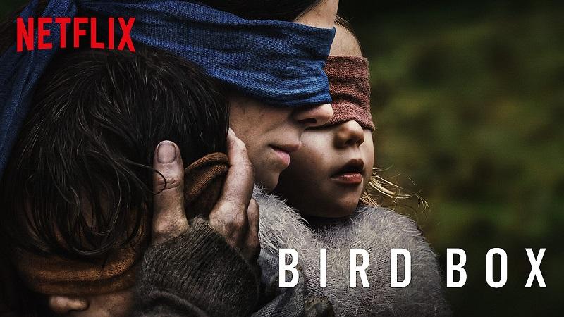 Bird Box bat les records sur Netflix