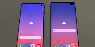 Samsung Galaxy S10 et Galaxy S10+