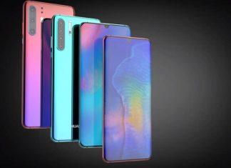 Un concept du Huawei P30