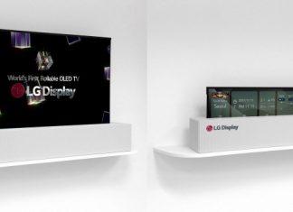 CES 2019 : le téléviseur enroulable de LG disponible dès mars prochain ?