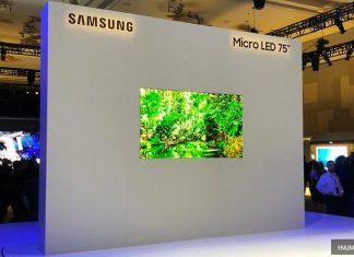 CES 2019 : Samsung présente son Micro LED 4K au format 75 pouces