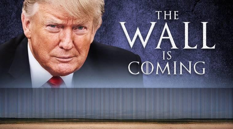 « The wall is coming » : le nouveau tweet de Trump inspiré de Game of Thrones