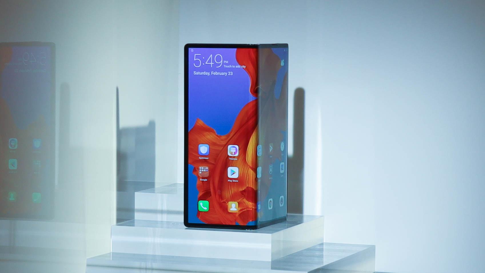 Huawei Mate X smartphone pliable Galaxy Fold