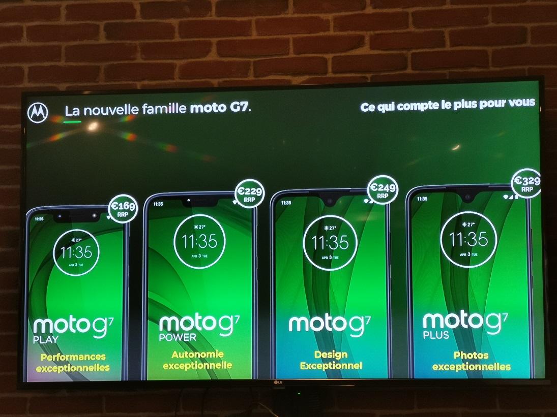 [ Prise en main ] Motorola Moto G7 : une nouvelle génération pleine d'arguments