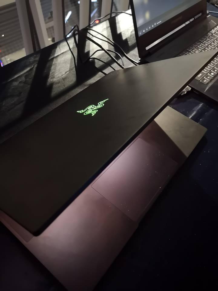 Razer Blade avec écran 4K et RTX 2080 Max-Q