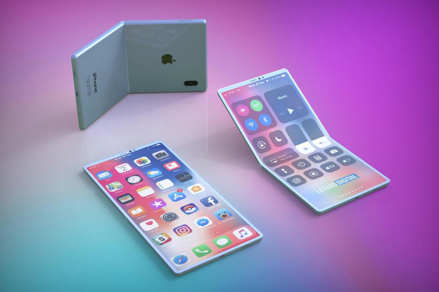 Apple pourrait créer lui aussi un iPhone pliable
