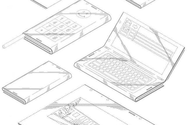 Un brevet d'Intel sur un smartphone pliable
