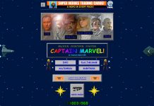 Le site de Captain Marvel