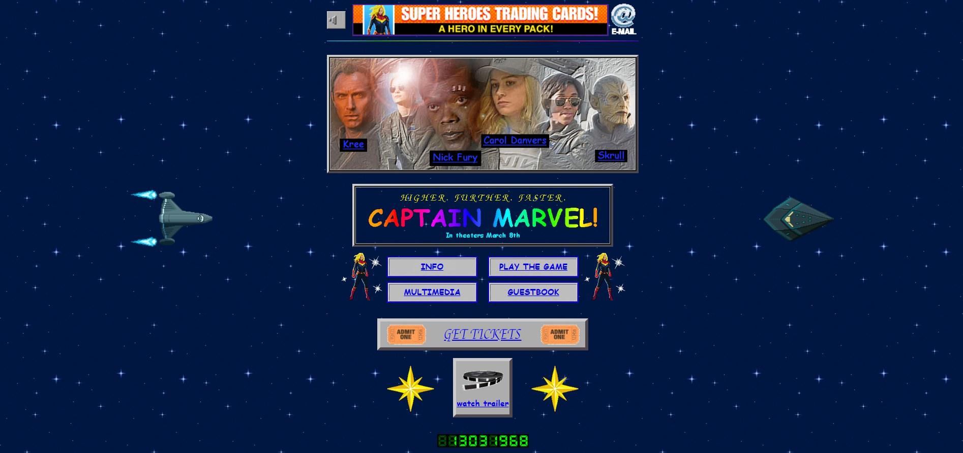Captain Marvel : qui se souvient de son modem 56k ?