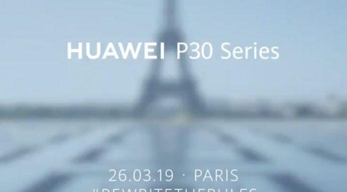 Les Huawei P30 et P30 Pro seront dévoilés à Paris !