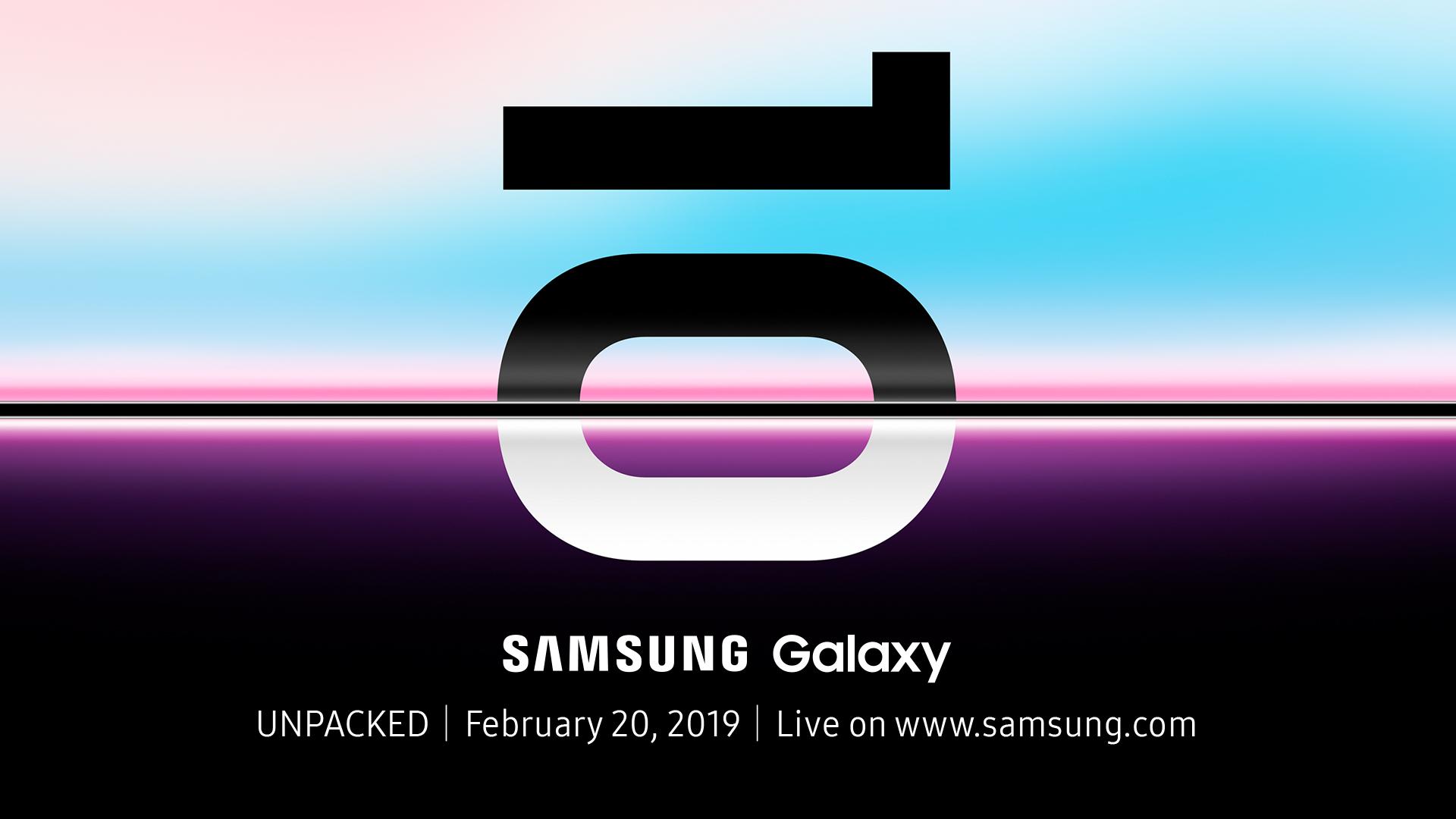 Galaxy S10E, Galaxy S10, Galaxy S10 Plus, Galaxy F : le live de Samsung, c'est par ici !