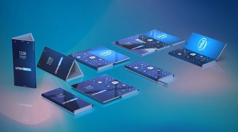 Intel veut créer un smartphone pliable capable de se transformer en tablette
